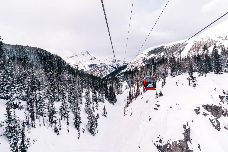 Banff Sunshine gondola