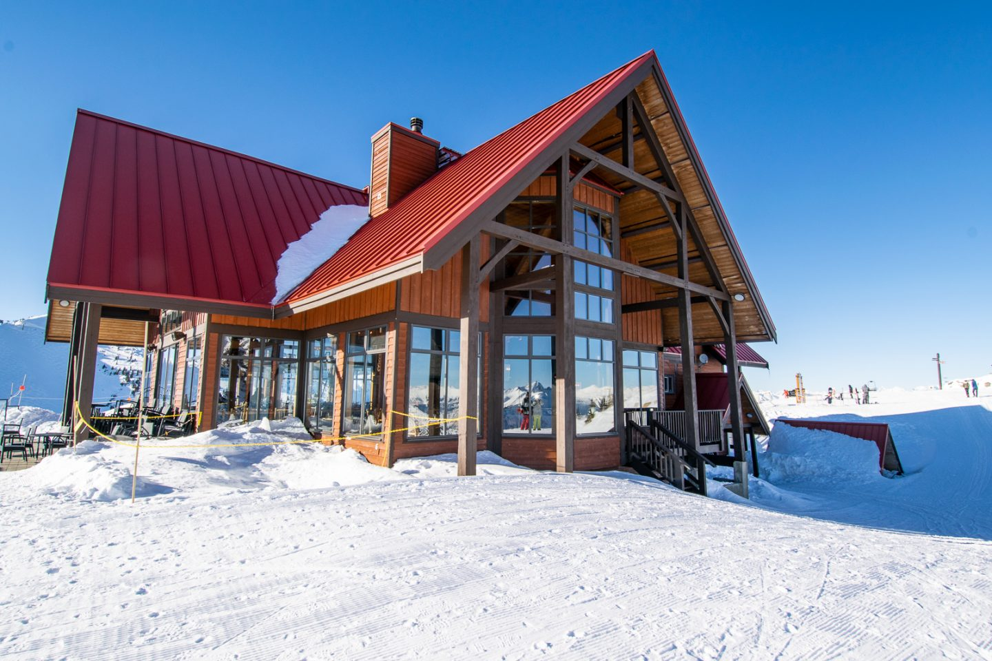 Kicking Horse Ski Resort Eagle's Eye Restaurant