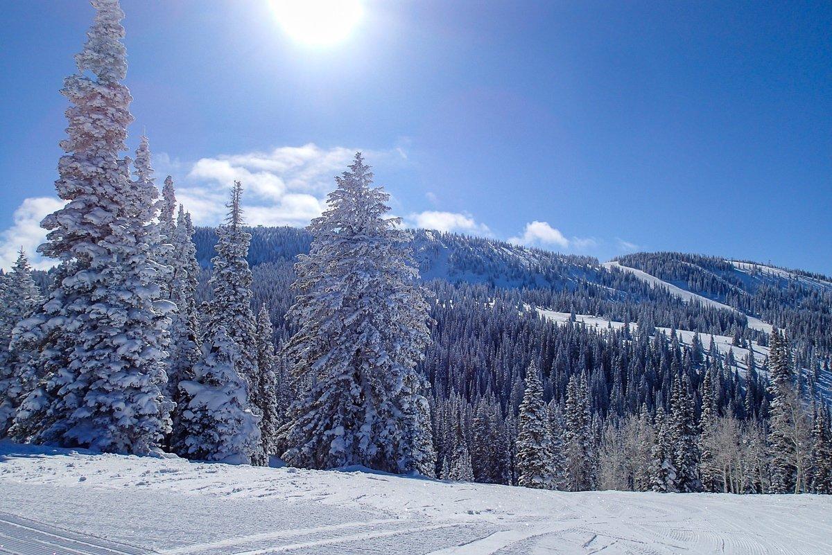 Steamboat Ski resort Colorado