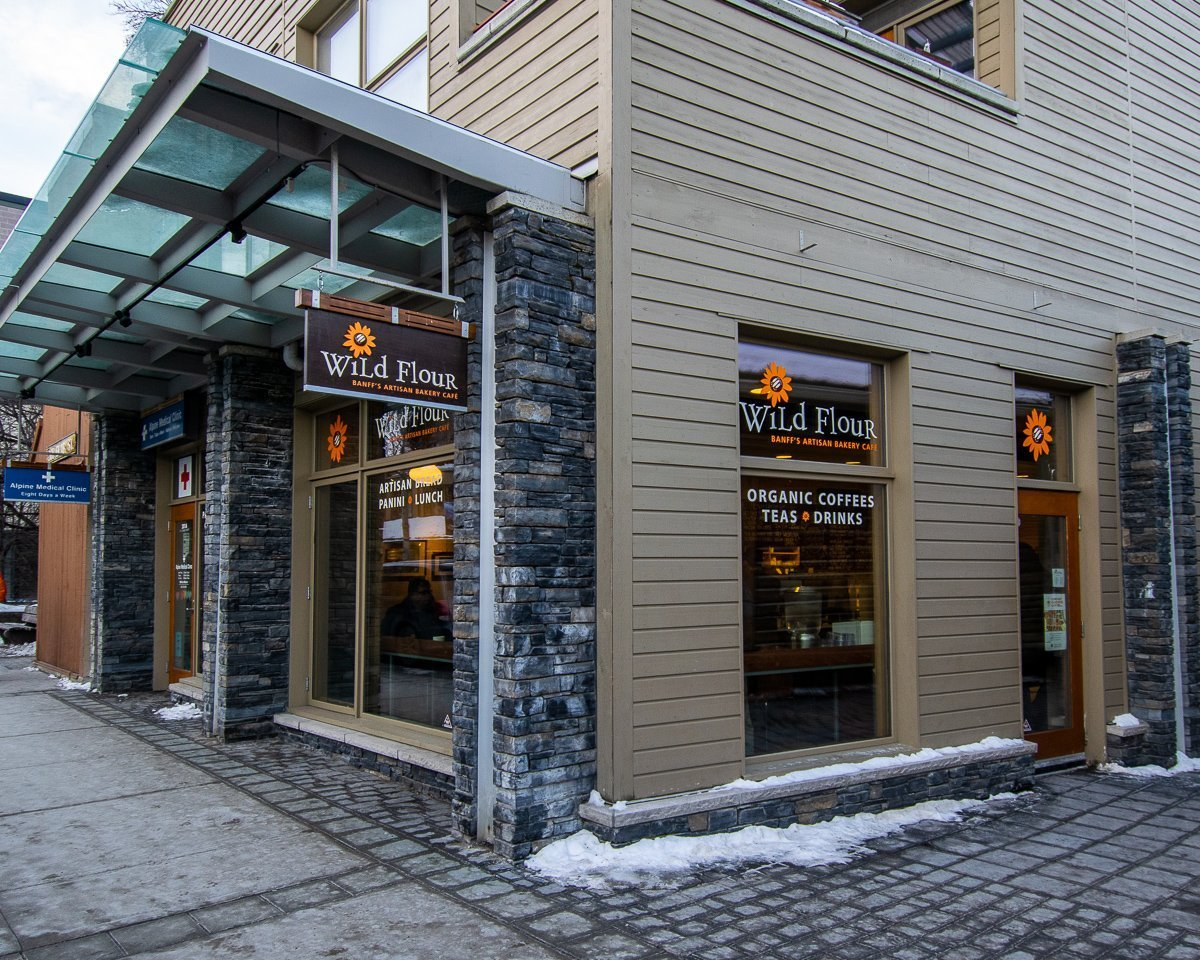 Best coffee in Banff Wildflour