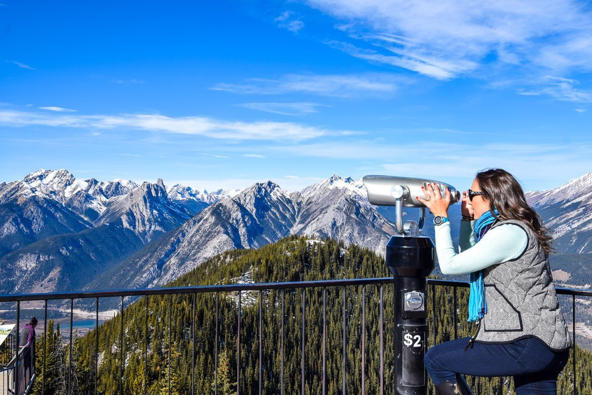 Banff Scenic gondola