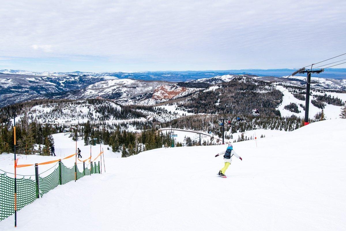 Brianhead Ski Resort Utah