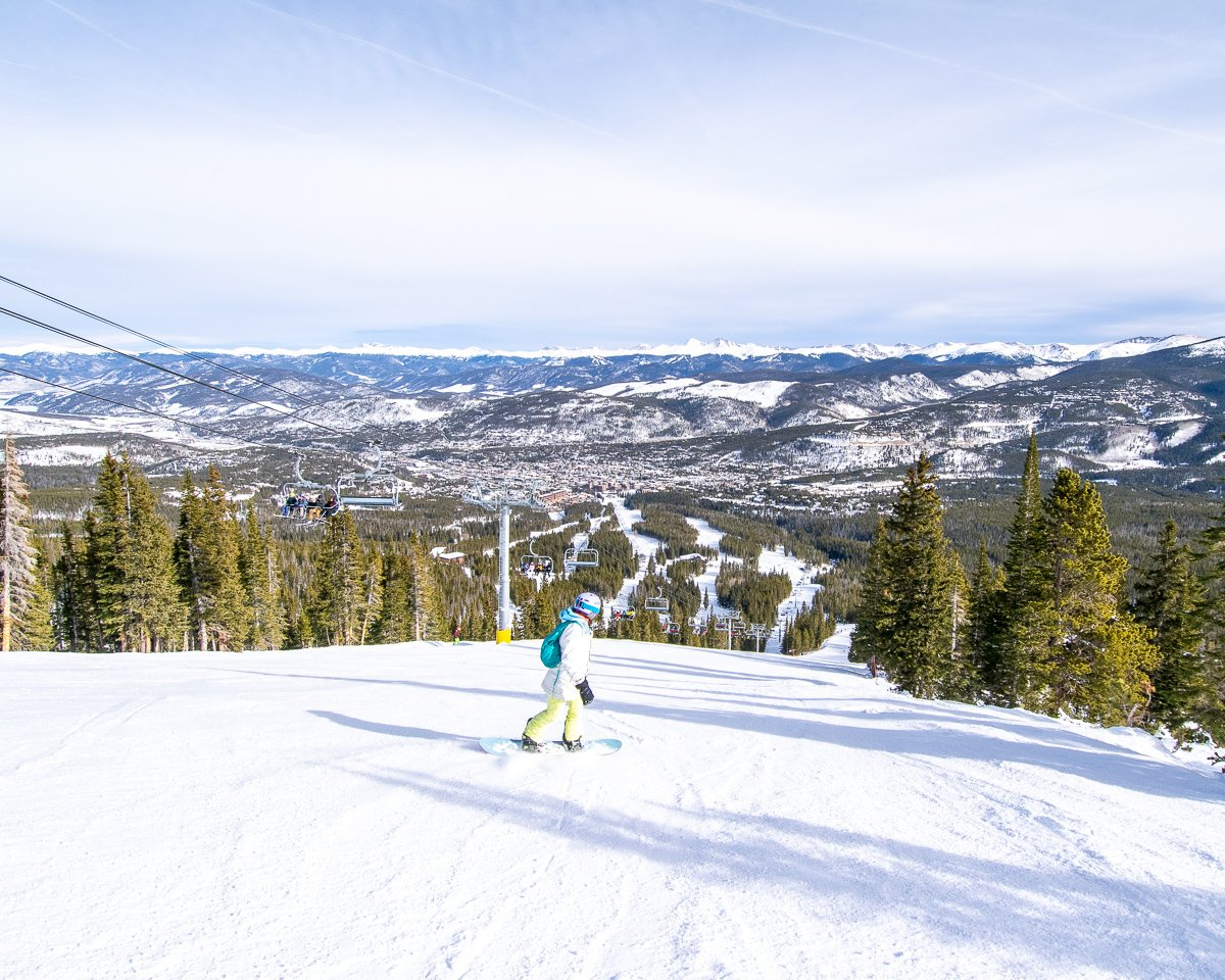 Breckenridge snow guide