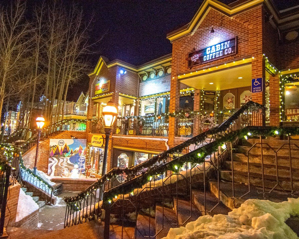 Breckenridge coffee shops