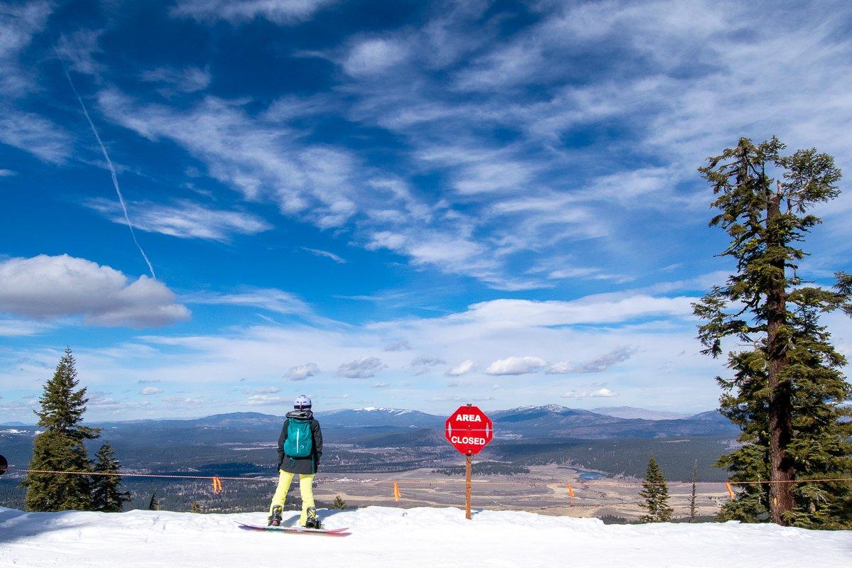 Northstar ski resort runs