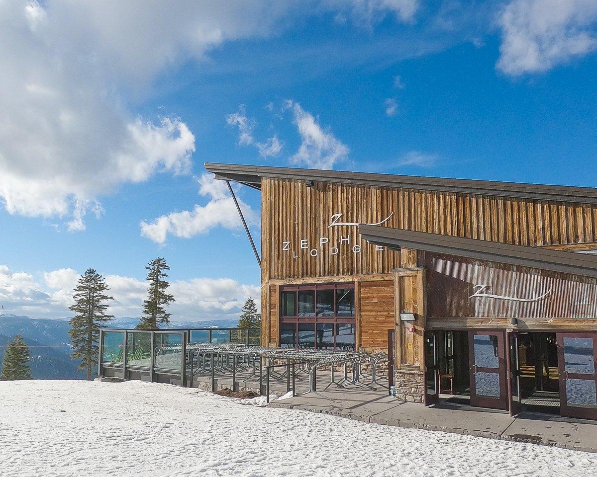 Northstar ski resort food