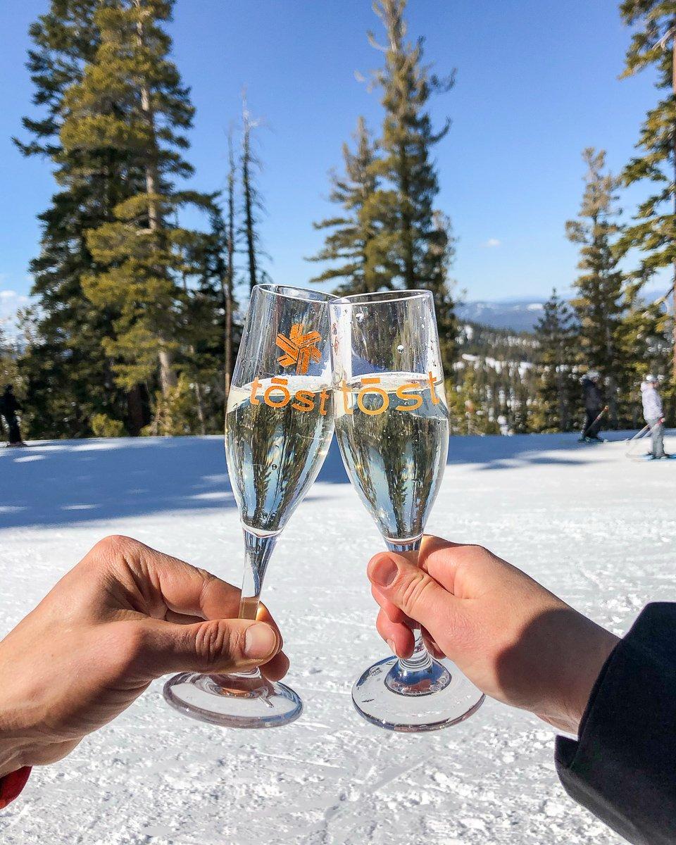 Northstar ski resort tost