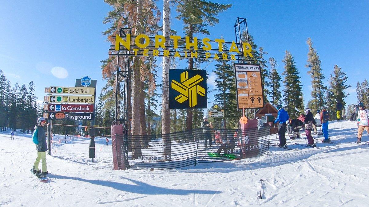 Northstar terrain park